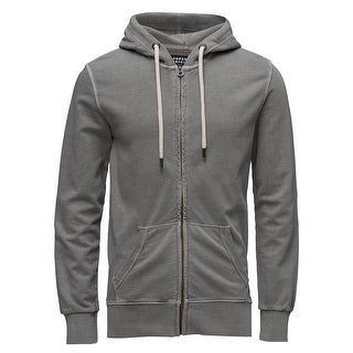 Superdry Originals Mens Zip Hoodie Track Jacket Small S Grey Super Dry