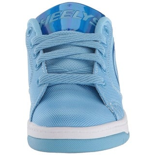 Use-Custom-Brand Mens HE100180 Fabric Low Top Lace Up Fashion Sneakers