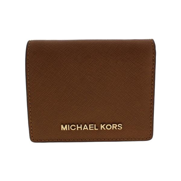 d98f81a9fce325 Shop Michael Kors Womens Jet Set Traveler Wallet Leather Bifold ...