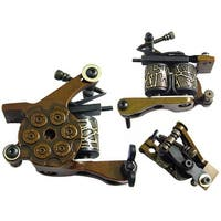 Tattoo Machine Shader 10-Wrap Coils - Gold