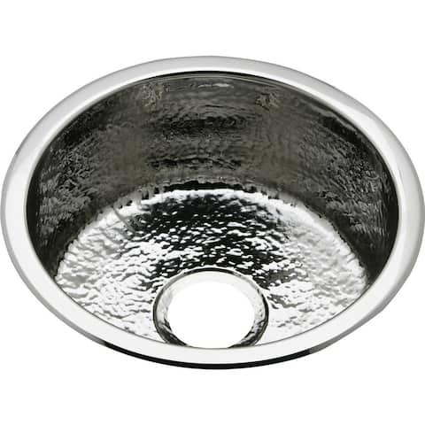 "Elkay SCF16FB The Mystic 16-3/8"" Single Basin 18-Gauge Stainless Steel Kitchen Sink for Drop In or Undermount Installations"