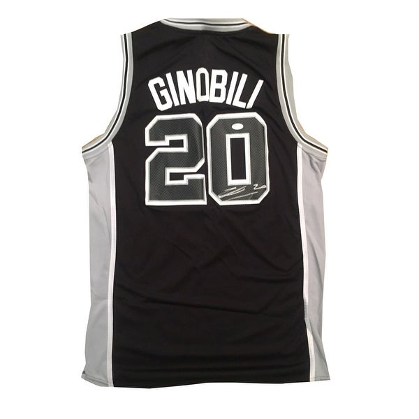new arrival 4a4c2 b5c93 Shop Manu Ginobili Autographed Spurs Signed Basketball ...