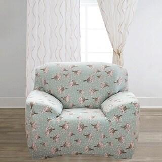 Unique Bargains Spandex Stretch Pattern 14 Chair Cover