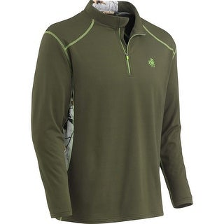 Legendary Whitetails Men's Endurance Big Game Camo Performance 1/4 Zip