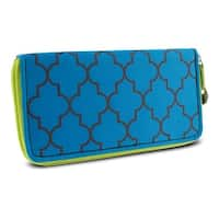 Travelon Hack-Proof RFID Blocking Ladies Wallet, Moroccan Print