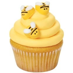 Bumblebees - Royal Icing Decorations 18/Pkg