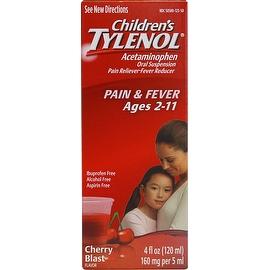 TYLENOL Children's Pain & Fever Relief, Cherry Blast Liquid, 4 oz
