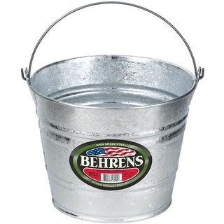 Behrens 1205 Hot Dipped Steel Pail, 5 Quarts