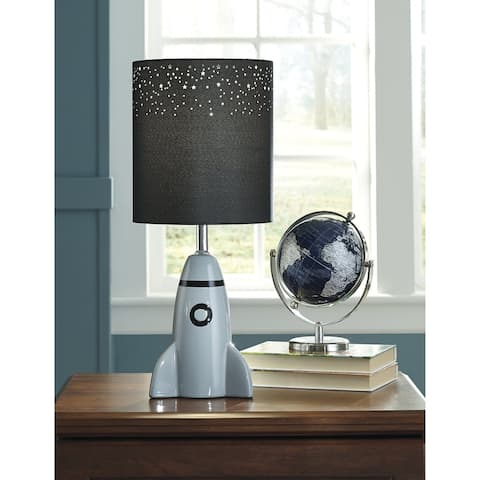 "Cale Rocket Table Lamp - 8"" W x 8"" D x 18"" H"