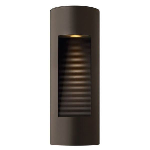 """Hinkley Lighting H1660 16.75"""" Height 2-Light ADA Compliant Dark Sky Outdoor Wall Sconce from the Luna Collection - N/A"""