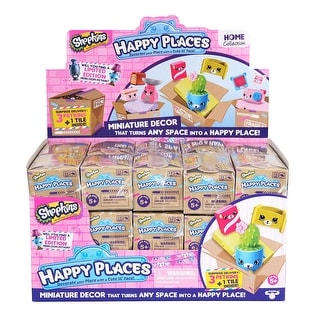 Shopkins Happy Places Delivery Pack Blind Box Case of 30 Packs