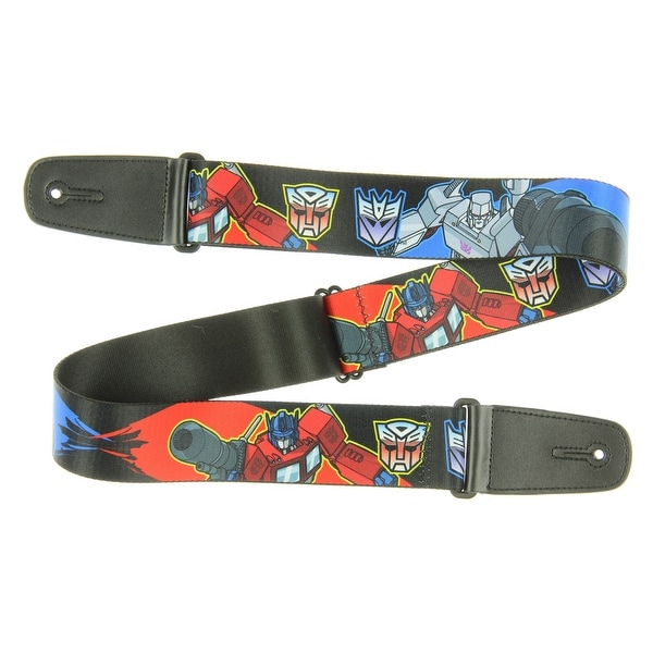 8daf840047af20 Shop Transformers Theme Nylon Guitar Strap - Battle Megatron Vs. Optimus  Prime - Free Shipping On Orders Over  45 - Overstock - 16805319