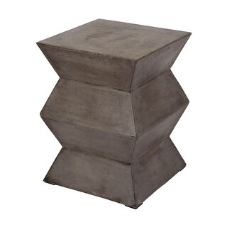 Dimond Home 157-005 Fold Cement Stool - Concrete