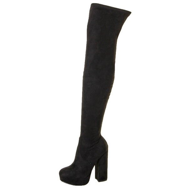 Steve Madden Sofia Women's Stretch Over The Knee Boots