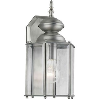 Forte Lighting 1007-01 Outdoor Wall Sconce from the Exterior Lighting Collection