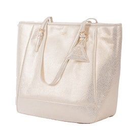 Sorial Madison Vegan Tote in Soft Gold