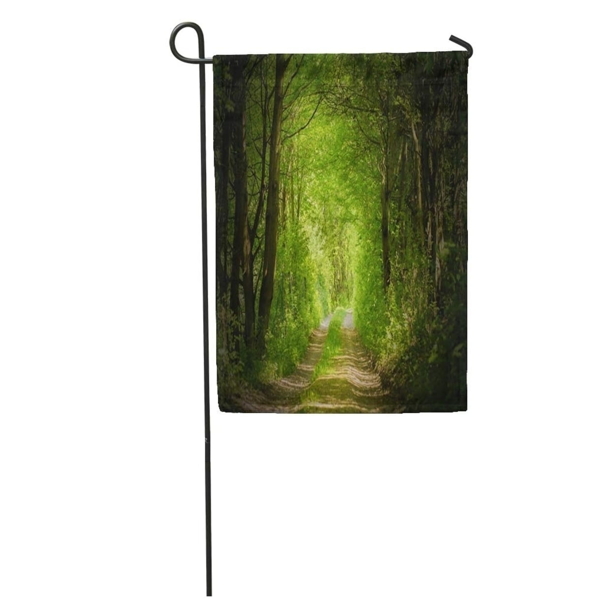 Green Pathway Magic Forest Path Walk Enchanted Wonderland Mystery Jungle Garden Flag Decorative Flag House Banner 12x18 N A On Sale Overstock 31400859
