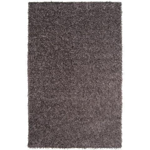 Hand-woven Raz Soft Plush Shag Area Rug (5' x 8')