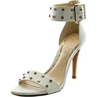 Jessica Simpson Elonna 2 Women  Open Toe Synthetic White Sandals
