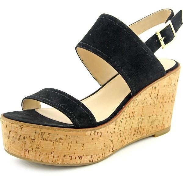 cbace175124 Shop Steve Madden Caytln Women Open Toe Suede Wedge Sandal - Free ...