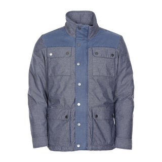 Tommy Hilfiger Barton 4-Pocket Jacket Large L Blue Down Fill Insulation