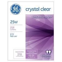 GE 97478 Incandescent Light Bulb, 25 Watts, 120 Volt