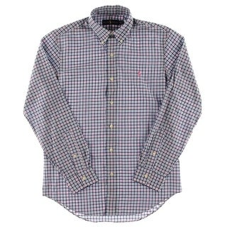 Polo Ralph Lauren Mens Casual Shirt Twill Long Sleeves