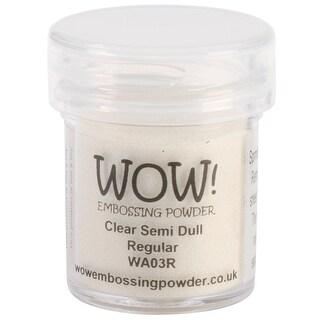 WOW! Embossing Powder 15ml-Clear Semi Dull