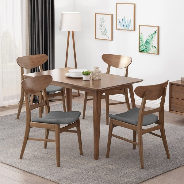Idalia Mid-Century Modern Dining Chairs (Set of 4) by Christopher Knight Home. Opens flyout.