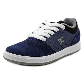 DC Shoes Cole Signature Youth Round Toe Synthetic Blue Skate Shoe