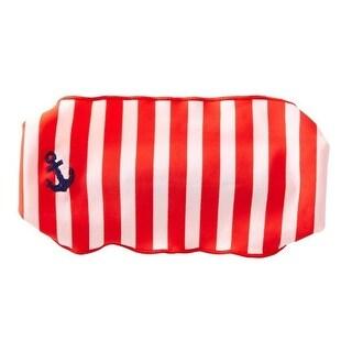 Azul Girls Red White Stripe In The Navy Stylish Stretchy Headband