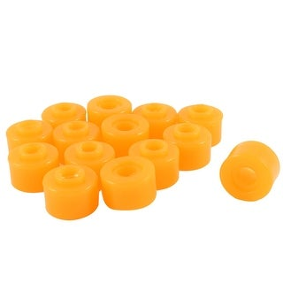 "Unique Bargains 14 x Orange 1.1"" x 0.39"" x 0.8"" Rubber Shock Absorber Bushings Damper Assembly"
