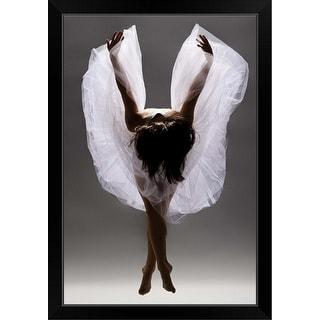 """Angel"" Black Framed Print"