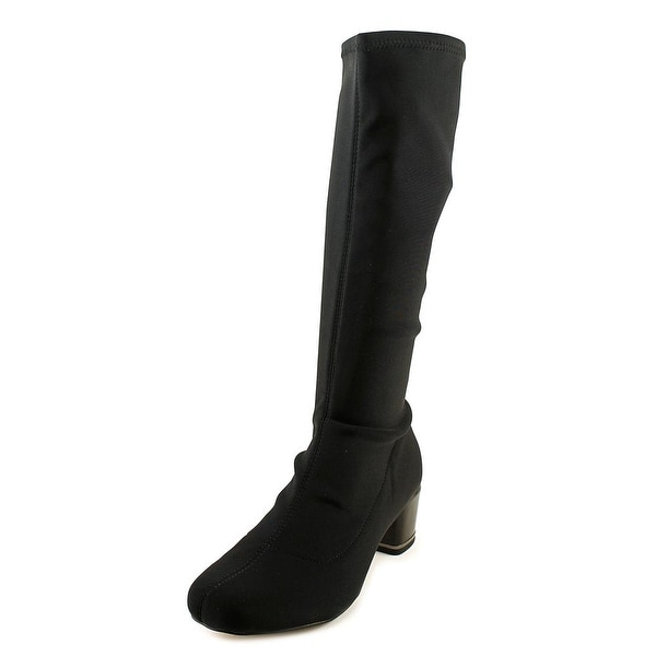 Sudini Melissa Women Round Toe Synthetic Knee High Boot