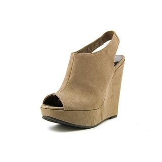 Carlos by Carlos Santana Becket   Open Toe Canvas  Wedge Heel