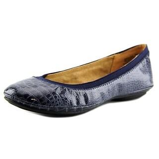 Bandolino Edition Women  Round Toe Synthetic Blue Flats