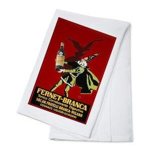 Italy - Fernet - Branca - (artist: Sepo) - Vintage Advertisement (100% Cotton Towel Absorbent)