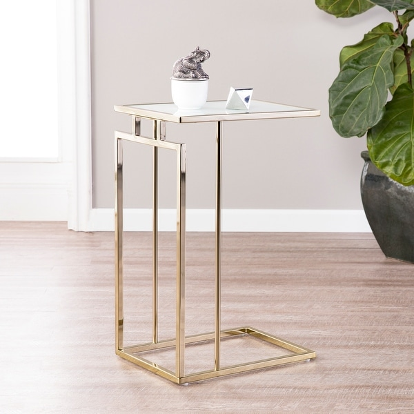 Colbi Glass-Topped C-Table. Opens flyout.