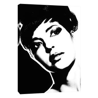 """PTM Images 9-105341  PTM Canvas Collection 10"""" x 8"""" - """"Girl 3"""" Giclee Audrey Hepburn Art Print on Canvas"""