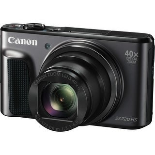 Canon PowerShot SX720 HS Digital Camera (Black) (International Model)