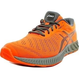 Asics FuzeX Lyte Men Round Toe Synthetic Orange Sneakers