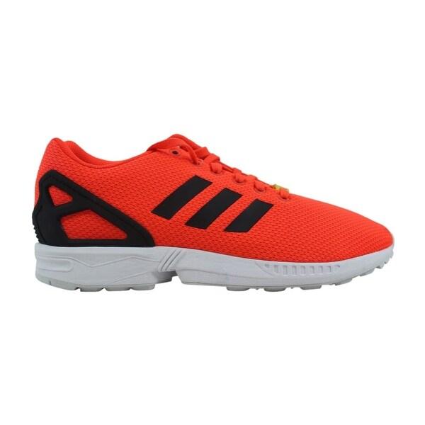 1d984da9ec886 Shop Adidas ZX Flux Infrared Infrared-White M22509 Men s - Free ...