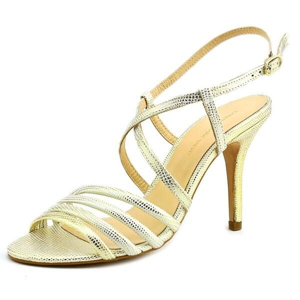 Carmen Marc Valvo Gracie Women Open Toe Leather Sandals