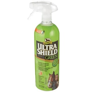 Absorbine 429501 UltraShield Green Natural Fly Repellent, 32 Oz