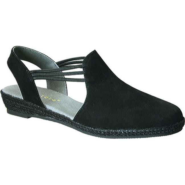 037c31ebc542 Shop David Tate Women s Nelly Slingback Black Nubuck - On Sale - Free  Shipping Today - Overstock - 11751109