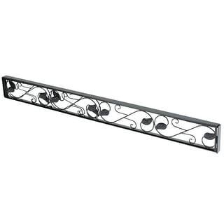 Link to Sliding Door Security Bar - Adjustable Black Glass Patio Door Jammer - Door Stopper Blocker Fits in Track To Prevent Opening Similar Items in Doors & Windows