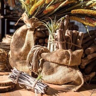 Rustic Reach Natural Burlap Bag Set of 3