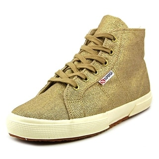Superga Lamestuds Women Round Toe Canvas Sneakers
