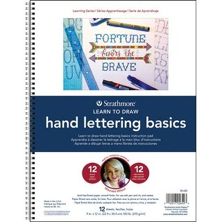 Strathmore Learning Series - Hand Lettering Basics-