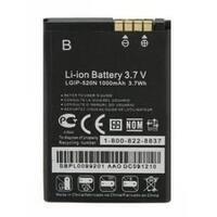 Replacement LG LGIP-520N Li-ion Mobile Phone Battery - 1000mAh / 3.7v